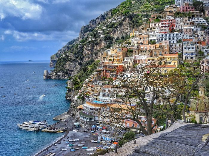 Positano, Italy Sea Day Nature Outdoors Beach No People Sky Scenics Beauty In Nature Water Close-up Italy Italy❤️ Amazing View First Eyeem Photo