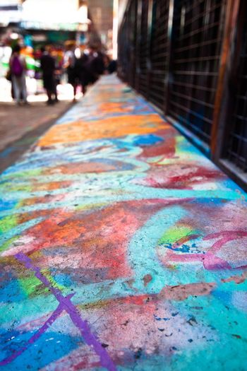 Streetphotography Street Art Melbourne Graffiti Depth Of Field Colored Walls Melbourne City Colors