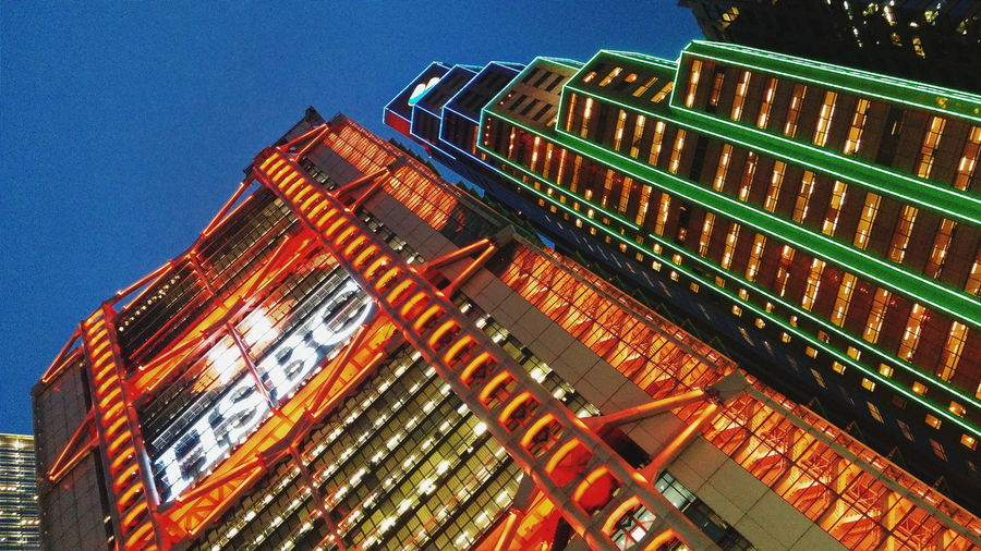 Cities At Night HongKong Night Architecture Architecture_collection Skyscraper Skyscrapers Buildingstyles Building_shotz