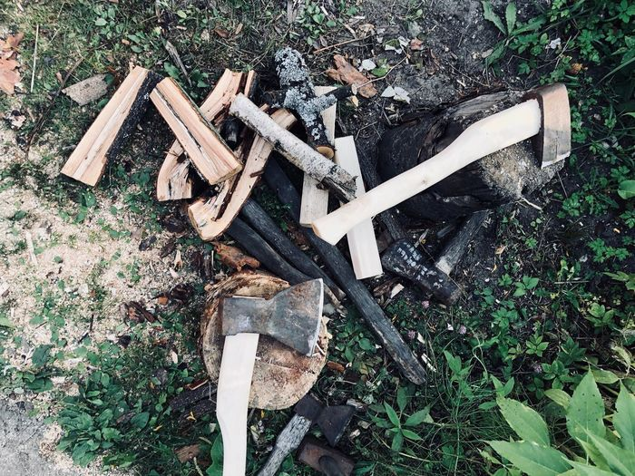 No People Wood - Material Wood Log Firewood Timber Tree Outdoors Axe Ax Hatched Cleaver Fuel Wood Bonfire Equipment Tool Countryside Country Life Hand Tool Springtime Decadence