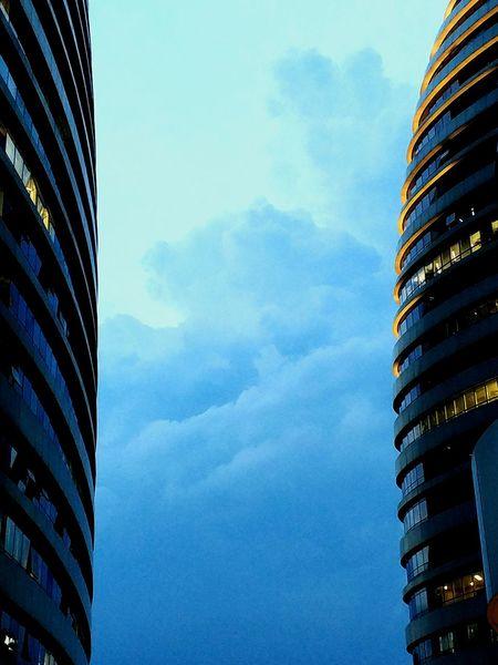 cloud in buildings