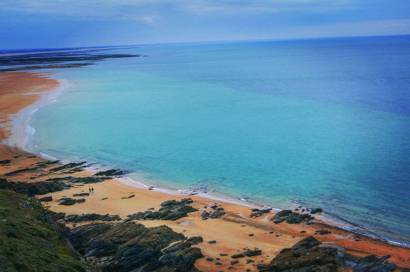 Sea Horizon Over Water Scenics Tranquil Scene Beauty In Nature Aerial View Outdoors Beach Landscape My Year My View