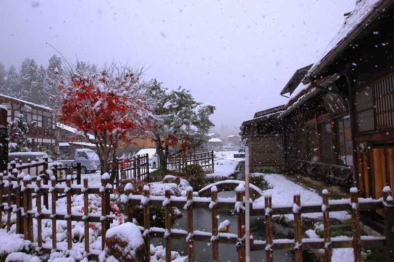 Shirakawa-go Landscape_photography Traditional Architecture Snow ❄