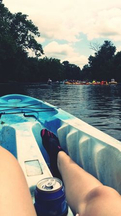 Lovely day for a some kayaking along the Niangua River Nianguariver Kayaking Sunny Day Summertime