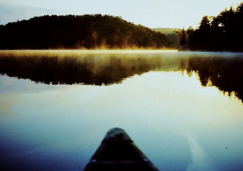 Naturephotography Kenauk NATIOALPARK 🍁kanada Color Photography Reflections And Shadows Fishing Reflection_collection Erholung Pur A New Beginning A New Beginning