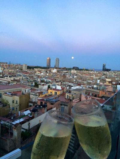 Cava on the roof. Your Ticket To Europe