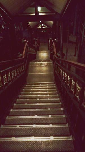 DisneySea Tokyo Chiba Japan Nightphotography Shiptour Stairs