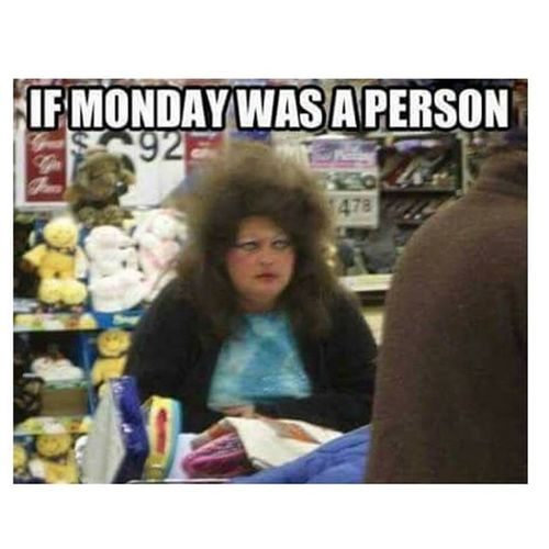 """Just imagine When you're having a great time and while enjoying the weather something pops up in your mind reminding you that """"tomorrow is Monday"""" Screams_out_loud !!! :/ oh Monday we hate you!"""
