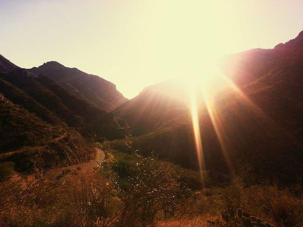 Tuscon, Az Catalina Mountains  EyeEm Best Shots - Sunsets + Sunrise Sunset_collection Desert Mountains Desert Mountain Sunset Mountain Hiking Glitch