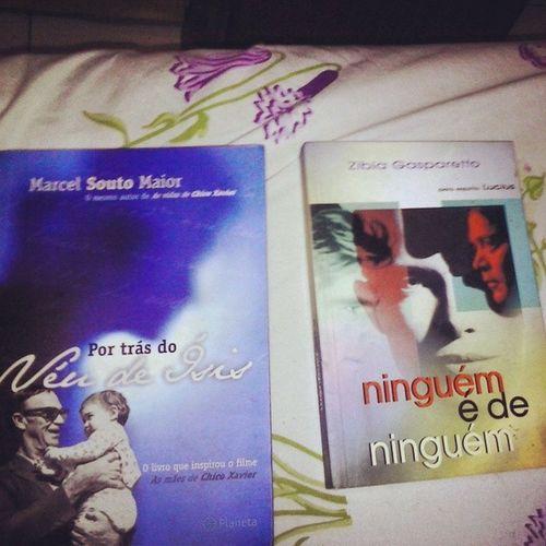 Apesar de já ter os dois livros, obrigado pelo presenteAmigoIrmão ChicoXavier ZibiaGasperetto