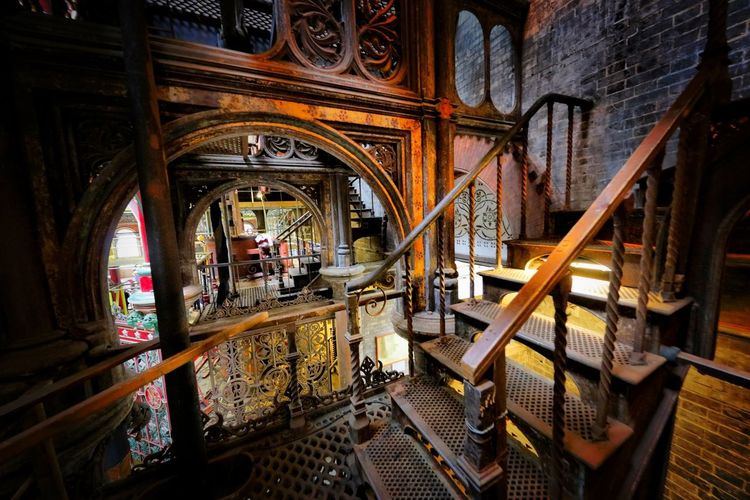 Crossness Pumping Station Architecture Indoors  Built Structure No People Wood - Material Building Factory