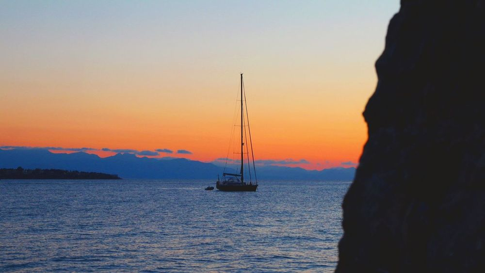 Sunset Nautical Vessel Outdoors Scenics Tranquility Travel Destinations Water Sailing Ship Clear Sky Cefalú, Sicilia, Mare, Paesaggio Tirreno Tirrenic Sea Tranquility Romantic Sky Horizon Over Water Sea Sky Silhouette Nature Canon100D Canon10-18mm Relaxing Place No People Beauty In Nature