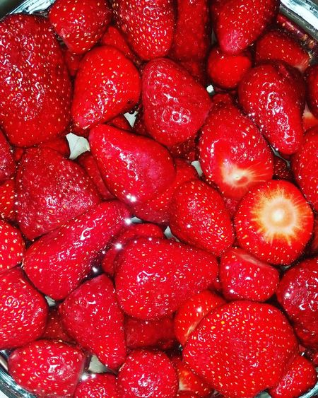 Desserts Cooking Strawberry Greece Wheningreece Dessert Time! Berries Red Passion Food Glorious Food Hollidays Fruits