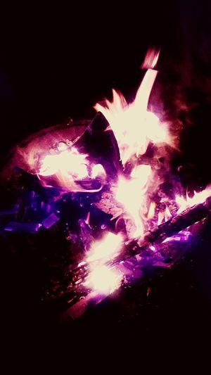 Backyard Firepit Burning Flames Backyard Chillin Fire Enjoying Life Beautiful Night Photography Enjoying Life