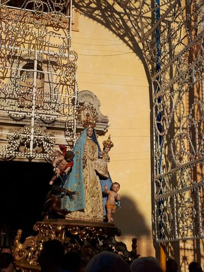 Madonna del Soccorso. CastelFranci AV Italy Arts Culture And Entertainment Tradition Religion