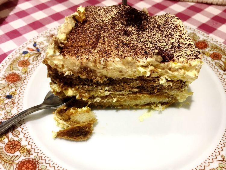 They have the best tiramisu in town🔥 #italianfood #tiramisu Food Ready-to-eat Still Life Freshness Dessert