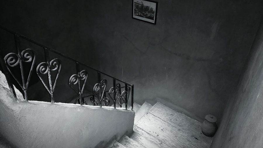 Taking Photos Hello World Check This Out Silouhettes Black And White Black And White Photography EyeEm Black&white! Stairs Stairs_collection Cool Staircase Cool Stairs Vintage Staircase Old Stairs Old Building  For The Love Of Black And White Cairo Egypt Travel Photography Welcome To Black