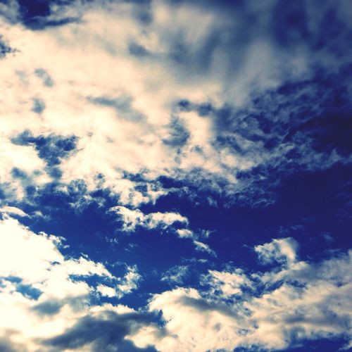 Sky Blue Colors Brand New Day