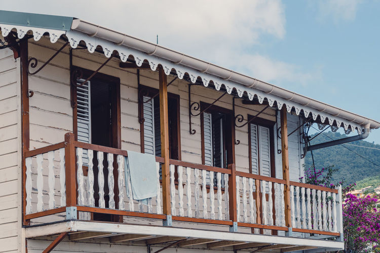 Martinique Martinique Island Martinique L'île Aux Fleurs Island Islandlife Caribbean Caribbean Life Creole Creole House Wood - Material Window House Cloud - Sky No People Traditional