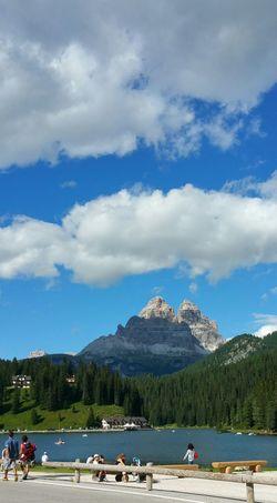 Lago Di Misurina Dolomiti Italy