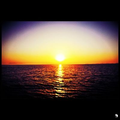 Summer Sunset Sea Sequbu