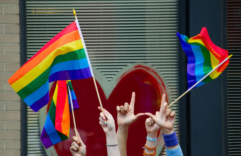 Hands waving gay flags in front of a big red heart Love Heart Gay Pride Gay Love Pride Prideparade Gay Rights GAY FLAG Rainbow Flag Gaypride Hands Heart Shape Human Hand Multi Colored Flag Emotion People Real People Human Body Part Hand Holding Unrecognizable Person Lgbt LGBT Rainbows Lgbt ❤️ Lgbtq Arms Raised