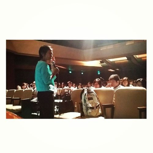 FEUPITP2014 'THE' Dr. Adelaida Fronda, former OSACS Director talks about Conflict Management. FEUSTUDENTLEADERS PITP2014