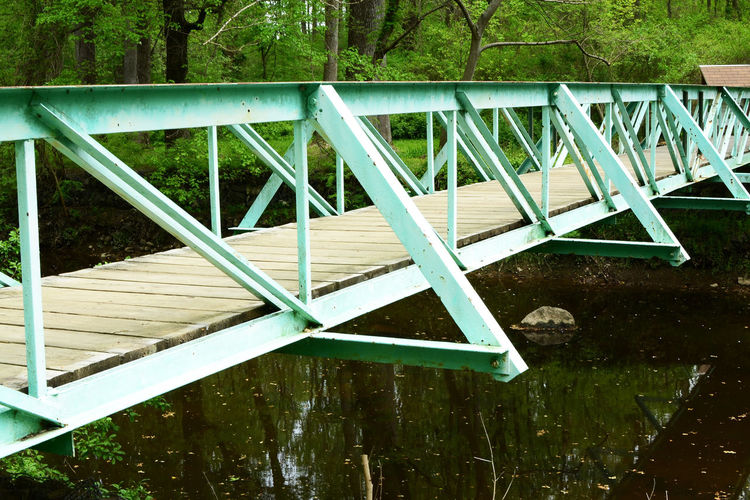 Bridge by Kesi J. Marcus Bridge Close-up Color Day Grass Green Green Color Lake Nature No People Outdoors Serene Tree Water