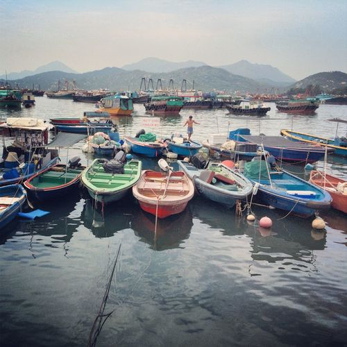 Boat Boats Cheung Chau Ferry Harbor HongKong Outdoors Traveling Water 長洲 Pmg_hok