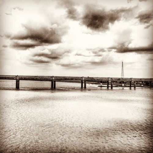 Cloud - Sky Beauty In Nature Bridge