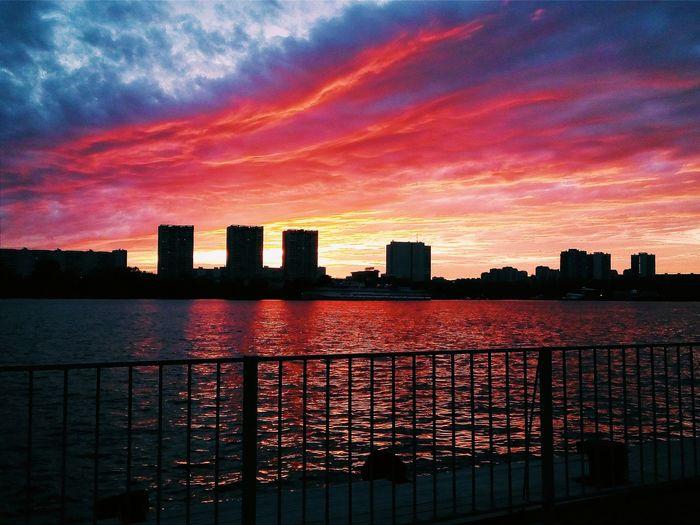 Потрясающий огненный закат 😍 Когда природа сказала всё сама. Hello World Autumn Sun Autumn Colors