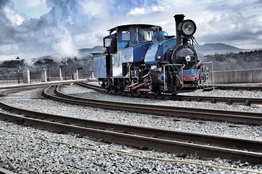 Ffestiniog Railway Porthmadog North Wales Steam Trains