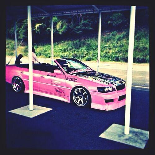Чайзер розовый 2zz
