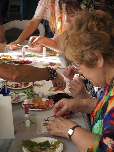 needlework People Women Day City
