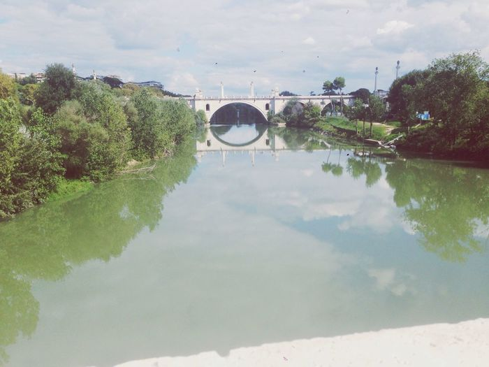 Lungotevere Roma Hello World View Enjoying Life Love Pontemilvio October 2015