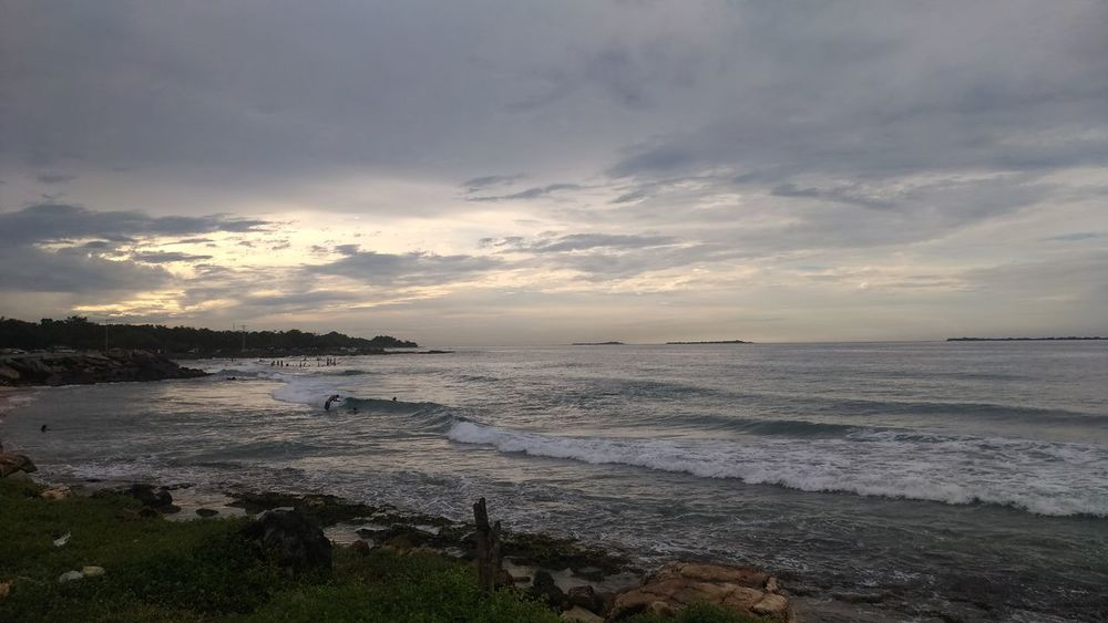 Beach sunset Beach Landscape Sea
