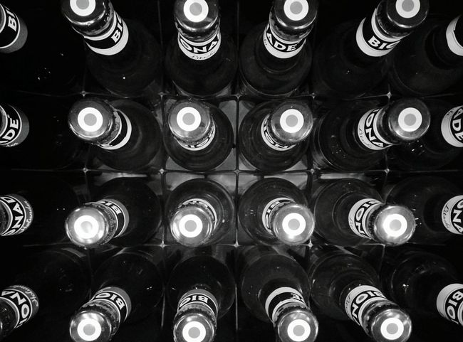 Day 361 - Bionade Berlin Blackandwhite Colors And Patterns Bottle Bottles Bionade 365project 365florianmski Day361