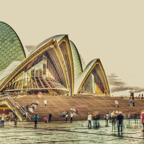 Architecture Tourist Architectural Feature Engineering Famous Place Tourism Opera House Been There. My Best Travel Photo
