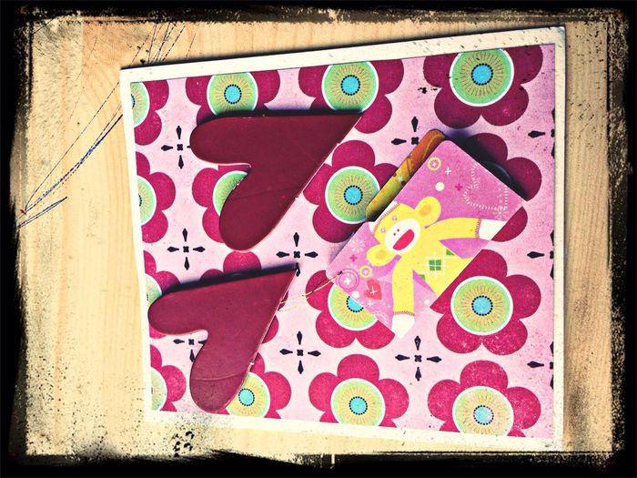One of my scrapbooking cards. Check This Out