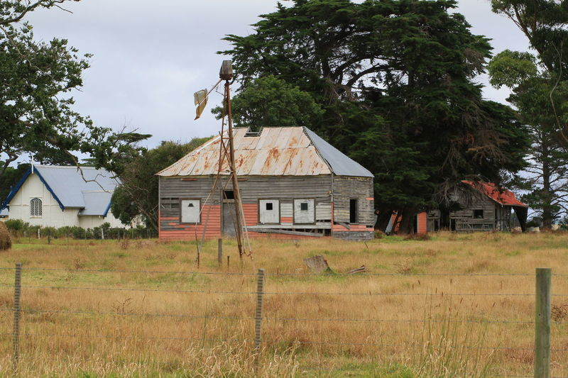 Australian Rural Landscape Building Exterior Day Dry Grass No People Old Farmhouse Outdoors Sky Betterlandscapes