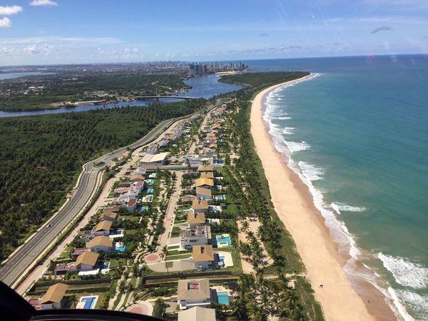 Pernambuco - BRAZIL Paiva Brazilian Beach Pernambuco -Brazil Brazilian Gallery Brazil Helicopter Pilot