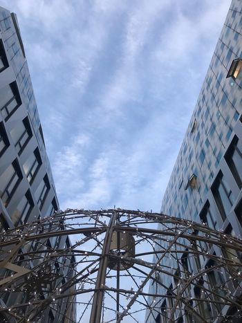 Christmastime Christmas Lights Lost In Writing Built Structure Architecture Low Angle View Building Exterior Sky Cloud - Sky Nature City Building Tall - High Outdoors Tower Day Text Travel Destinations Office Building Exterior No People Skyscraper Communication Travel