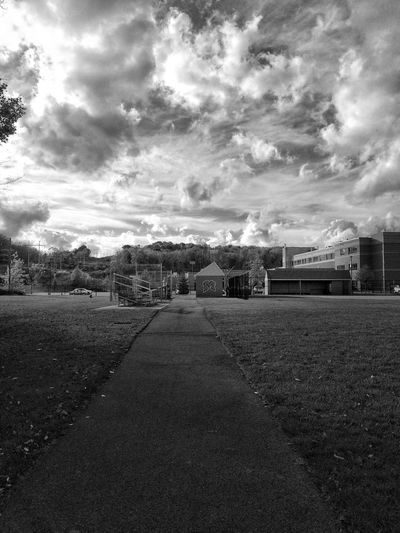 Sky Built Structure Architecture Cloud - Sky Building Exterior No People The Way Forward Outdoors Day City Nature Tadaa Community Blackandwhite