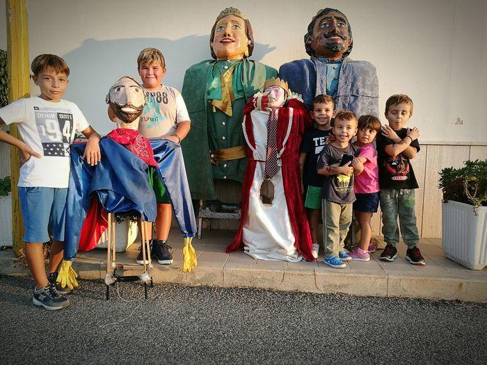 GIGANTI e Bambini Giant Children Traditional Culture