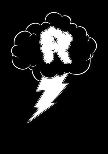Design work! Design Refuseroutine Art Lightning