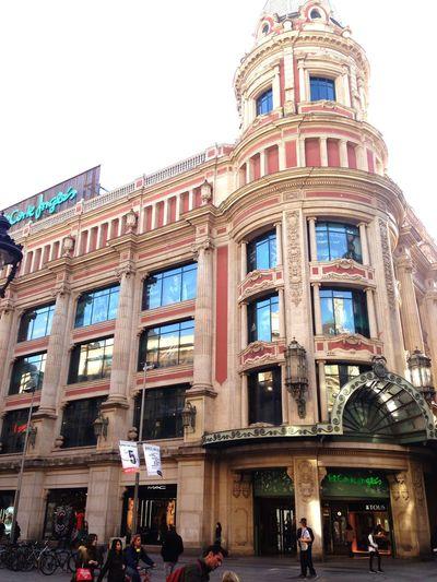 CorteInglés Barcelona Shopping Eyem Best Shots Architecture