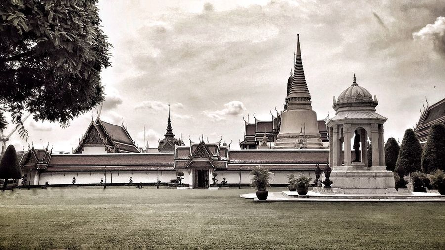 Temple Bangkok Thailand. Bangkok City Wat Phra Kaew Travel Trip Thailand
