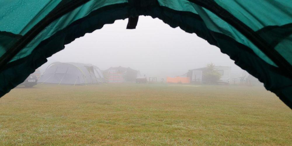 British camping