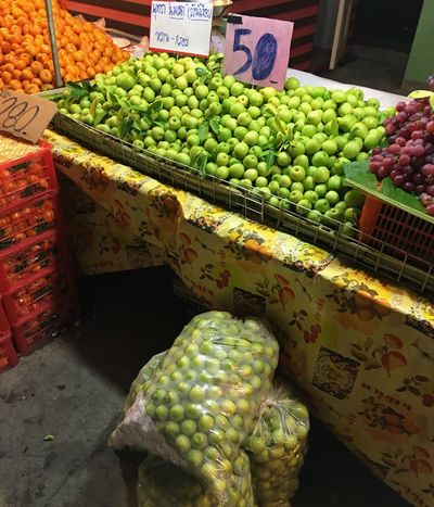 Food And Drink Freshness Food Monkey Apple Fruit Abundance Market Stall For Sale Large Group Of Objects Variation Market Choice Day No People Outdoors