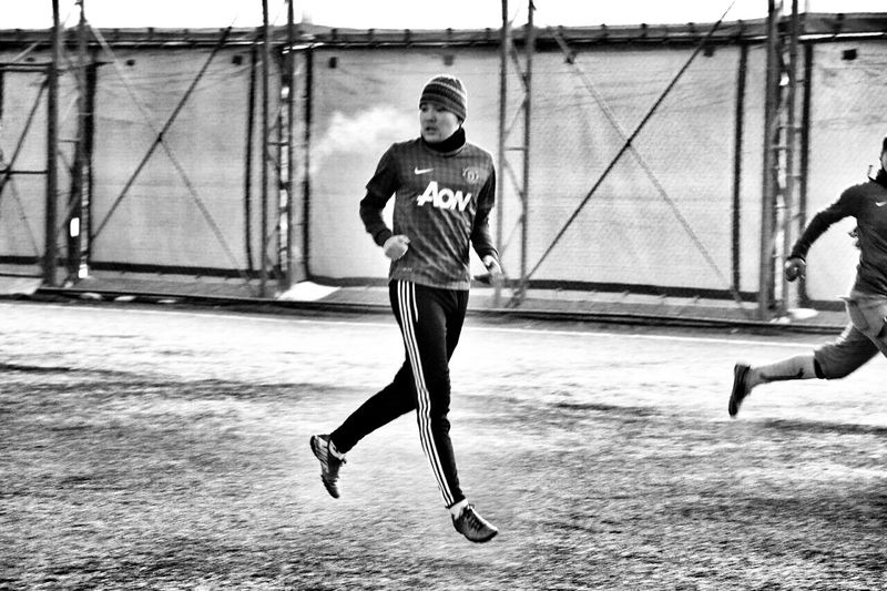 Football Teamwork Manchesterunited Almaty